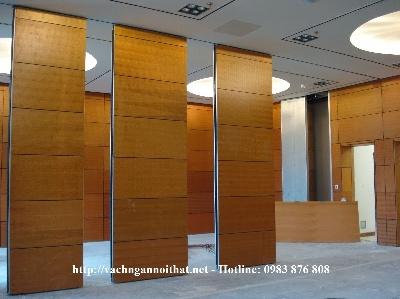 Sản xuất thi công vách ngăn di động gỗ Melamine VN-DG05