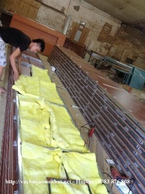 Xưởng sản xuất vách ngăn di động hiện đại tại Hà Nội