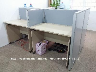 Thi công vách ngăn nỉ chị Hà - Láng Hạ - quận Đống Đa