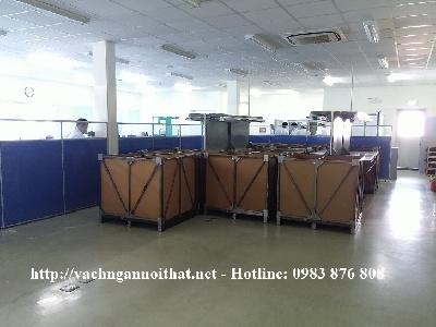 Thi công vách ngăn văn phòng tại Bắc Ninh