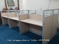 Ưu điểm khi sử dụng vách ngăn gỗ văn phòng