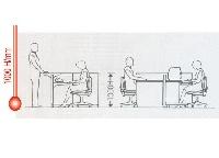 Kích thước tiêu chuẩn của vách ngăn văn phòng