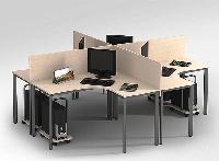 Những mẫu bàn làm việc có vách ngăn ấn tượng cho văn phòng nhỏ