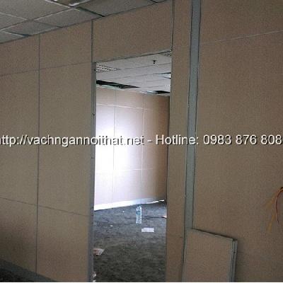 Vách gỗ ngăn phòng làm việc VNG-HG125