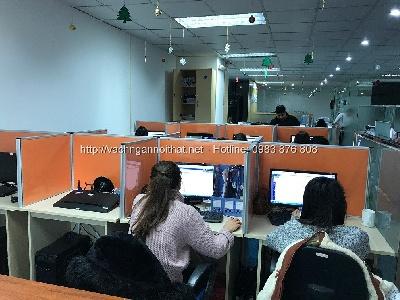 Vách ngăn nỉ bàn làm việc nhân viên VNN-K28